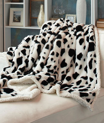 Animal-print-throw