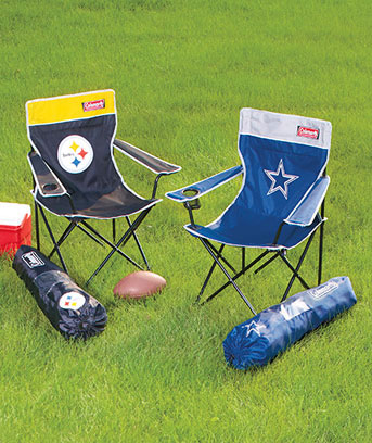 NFL camping chairs