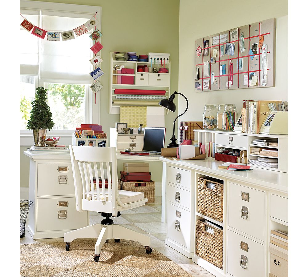 What do you need in your home office everyday for Home office design inspiration