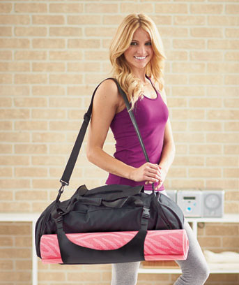 take early class gym bag