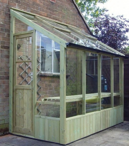 Lean-to-garden-shed