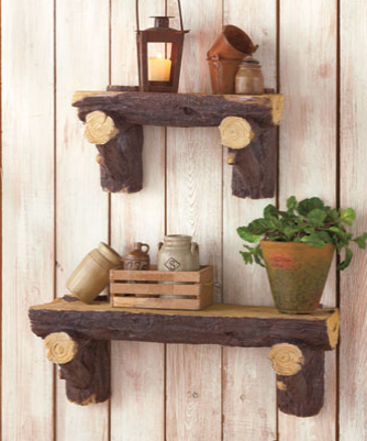 Log-shelves