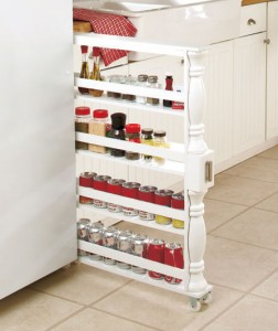 Slim-can-and-spice-racks