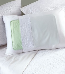Stay cooler and sleep better with the Cool Pillow Pad.