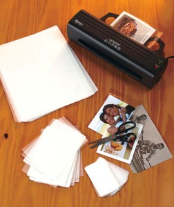 "This Laminator is perfect for the home or office! With the ability to laminate documents up to 9-1/2"" wide, this device will quickly become a valuable resource."