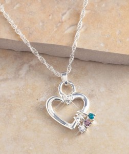 A wonderful gift for mothers and grandmothers, a Mother's Birthstone Necklace or Charms helps celebrate her family with a birthstone charm for the month in which each child was born.