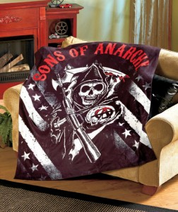 Wrap yourself up in comfort as you sit down for your favorite show with a Popular TV Show Fleece Throw.