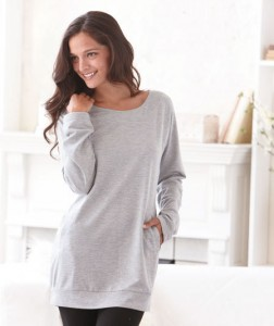 Go casual with the comfort and style of this Women's Soft Knit Weekend Tunic.