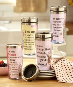 Aunty Acid is that grumpy old lady inside us all! This humorous travel mug says what you're thinking so you don't have to.