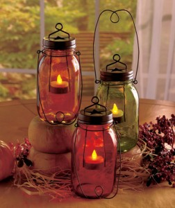 Enjoy pleasant accent lighting with the timeless look of an Enduring Candle Jar.