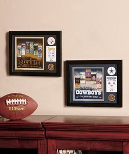 Celebrate your team with this NFL Framed Super Bowl Collectible.