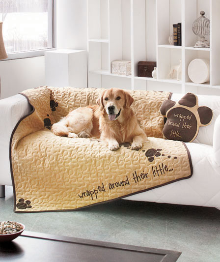 Admit Your Weakness For Four Legged Friend With A Quilted Pet Throw Or Shaped