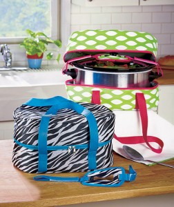 A Slow Cooker Carrier is a must-have for holidays, family gatherings and social events.