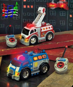 Your child can save the day with a Rush & Rescue Remote Control Vehicle!