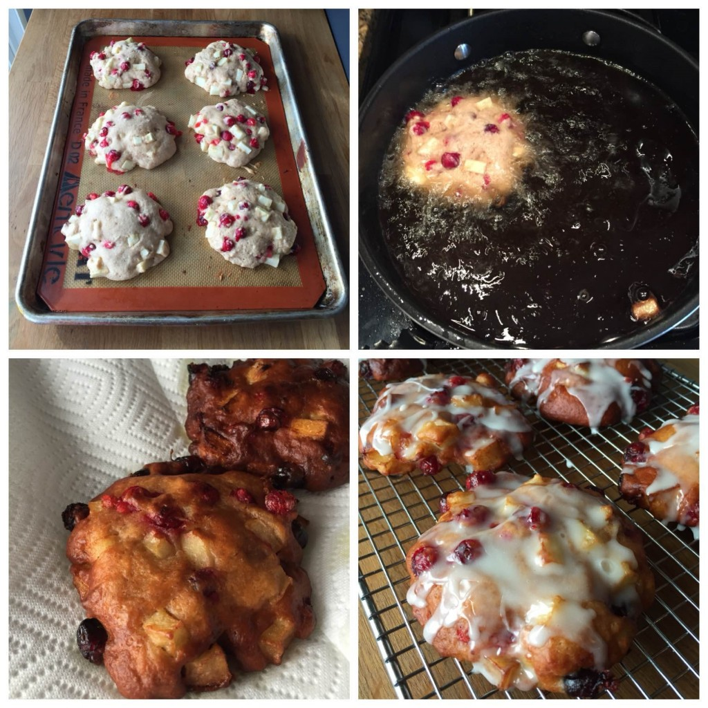 Cranberry-Apple-Fritters