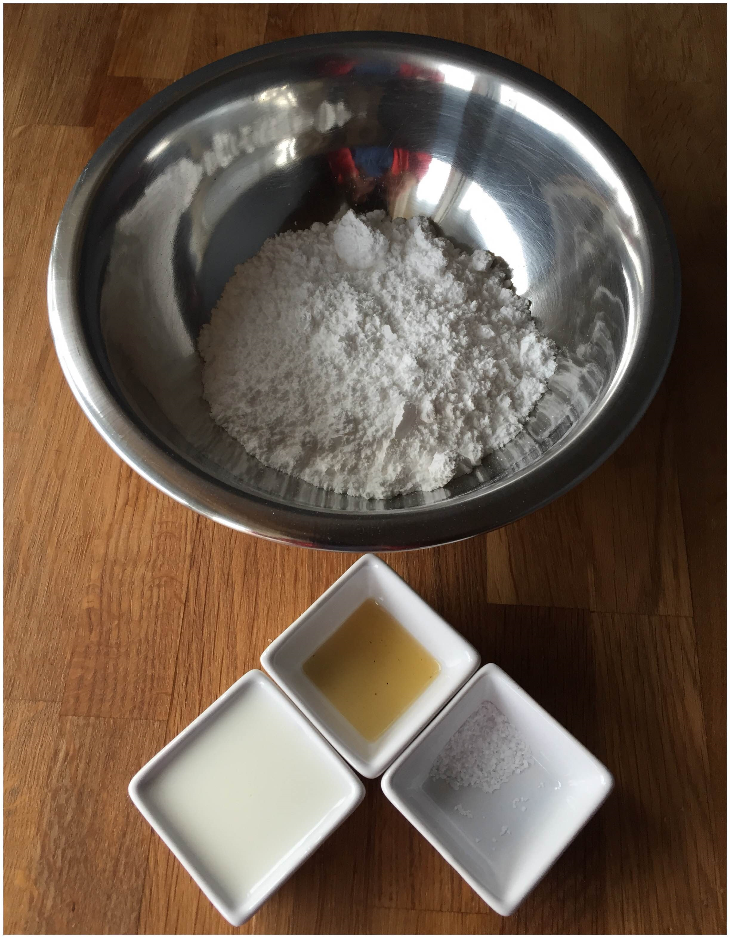 how to make fritters with baking powder