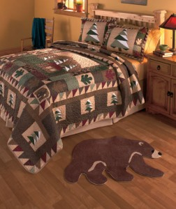 Big Pine Lodge Collection will give your home that rustic cabin appeal.