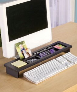 This Desktop Organizer keeps your office supplies close at hand and ready to use.