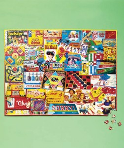 Inspire new memories while piecing together the good old days with these 1,000-Pc. Nostalgic Puzzles.