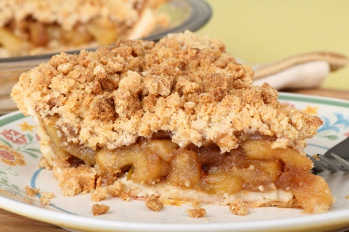 Dutch Apple Cake With Crumble Topping