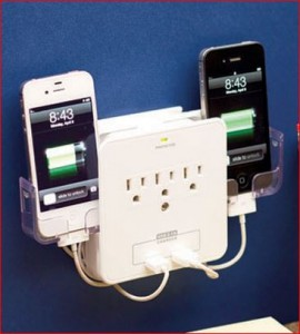 cell-phone-charging-station