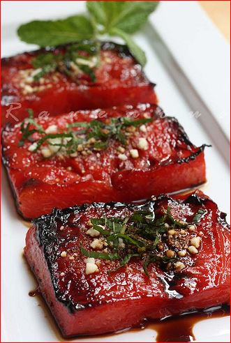 watermelon-steak