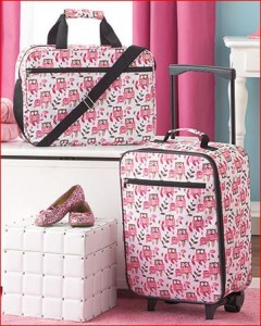 owl-luggage-set