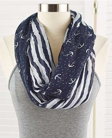 nautical-endless-loop-scarf