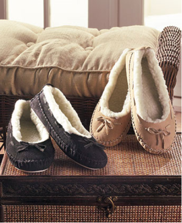 womens-genuine-suede-moccasins