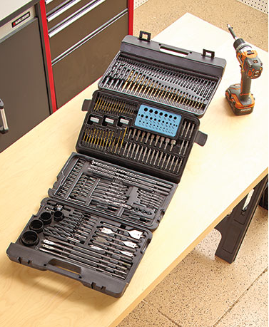 204-Piece-Super-Drill-Bit-Set