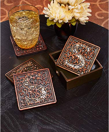 5-piece-mosaic-monogram-coaster-set