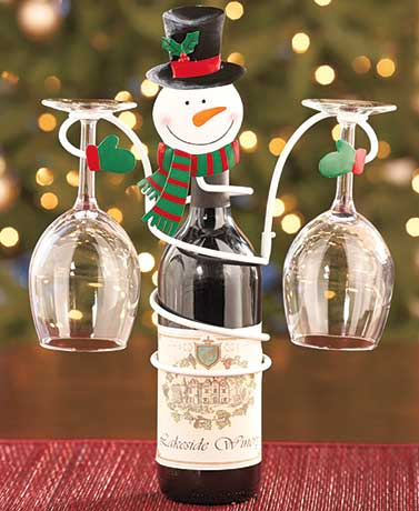 holiday-wine-bottle-and-glass-holders