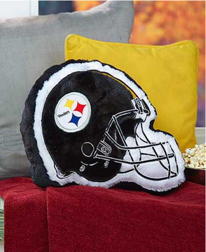 NFL-team-helmet-pillow