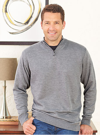 mens-set-of-2-zip-neck-sweaters