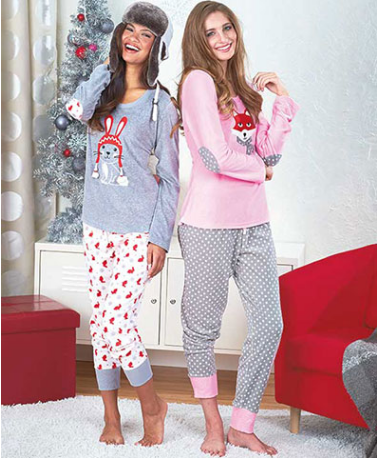 women's-cuddly-critter-loungewear-sets
