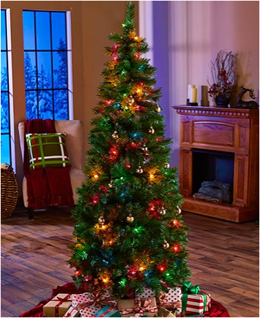 6-foot-pre-lit-pop-up-Christmas-tree