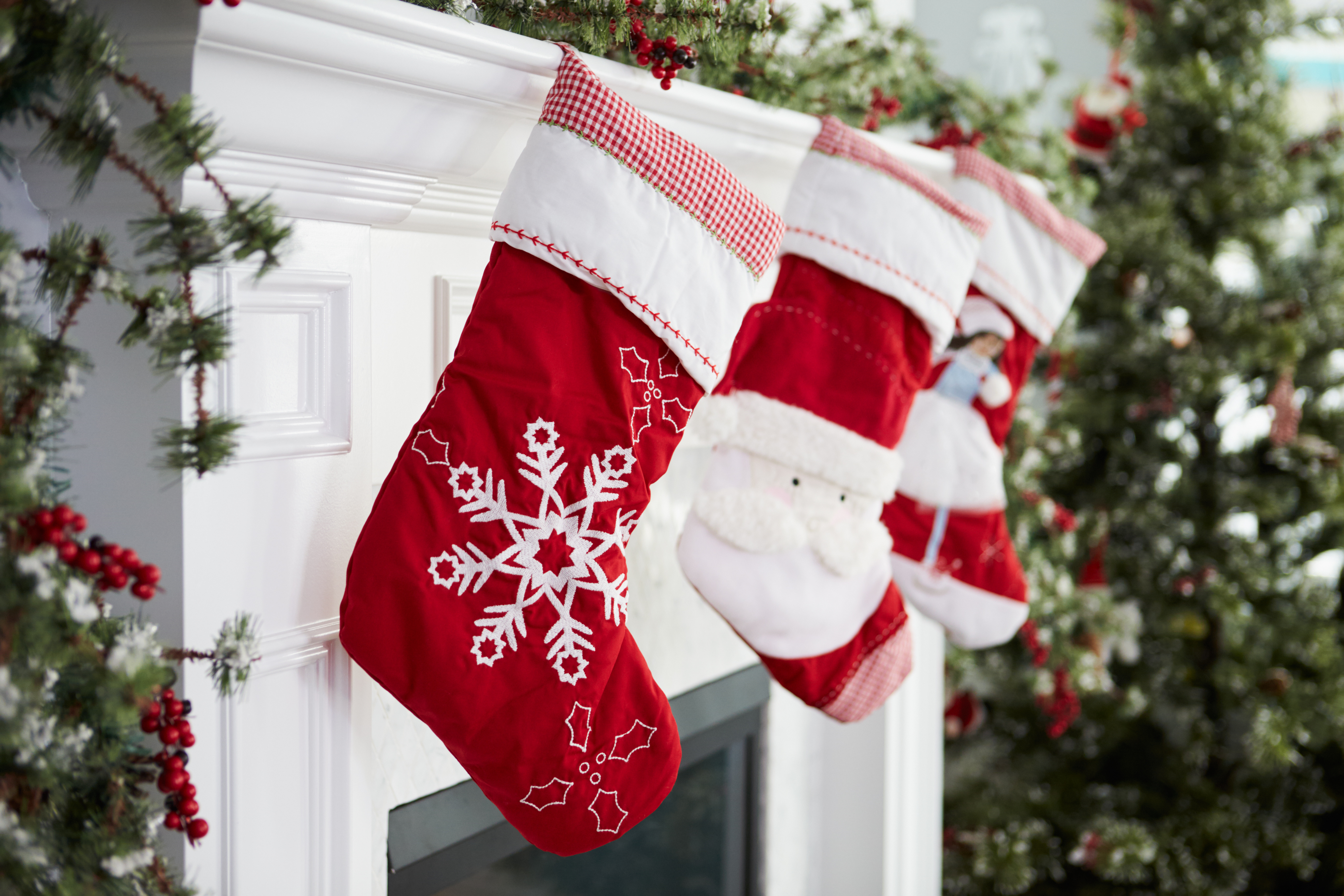empty-stockings-hung-on-fireplace-Christmas-Eve