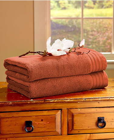 2 Pack Quick Dry Cotton Bath Sheets