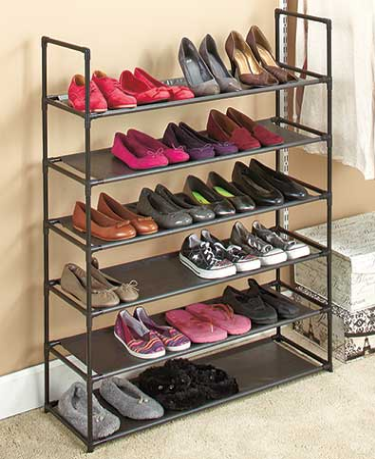 6 Tier Storage Shoe Rack