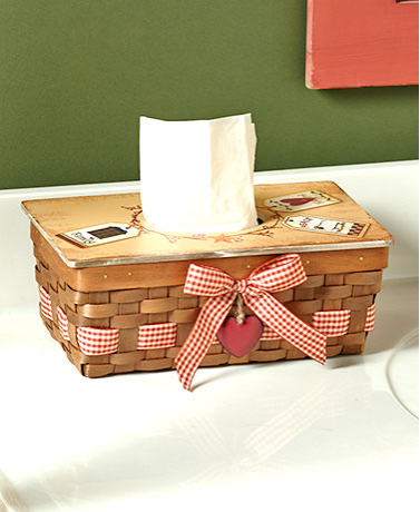 Country Tissue Box Covers