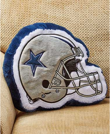 NFL Team Helmet Pillows