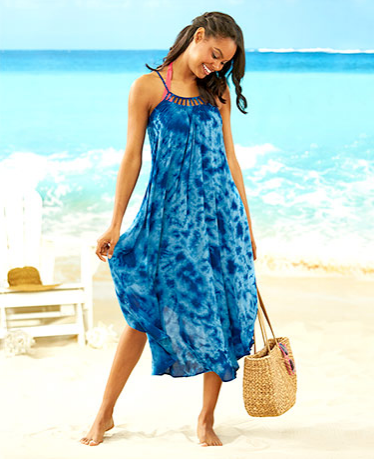 Women's Cover-Up Swing Dresses