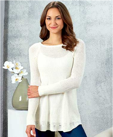 Women's Embellished Tunic Sweaters