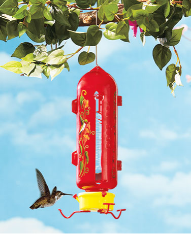 Garden Decorations - The Hum Hummingbird Feeder