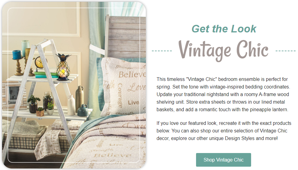 Get the Look - Vintage Chic