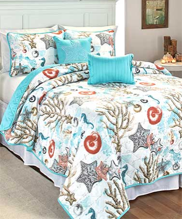 5-Piece-Coastal-Quilt-Set
