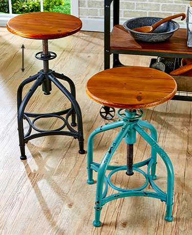 Adjustable-Height-Swivel-Stools