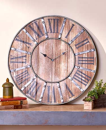 Rustic-Farmhouse-Clock