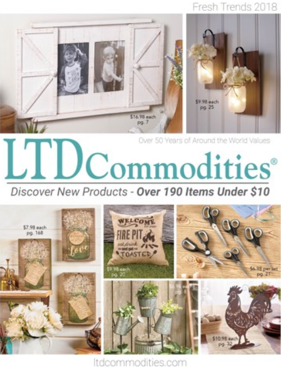 2018 Summer Catalog - LTD Commodities