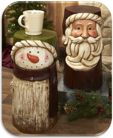 18-Inch Old World Holiday Decorative Accents